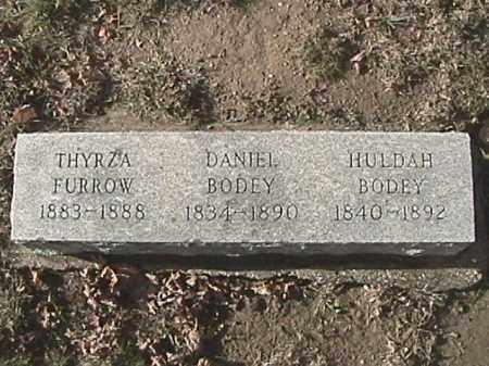 BODEY, DANIEL - Champaign County, Ohio | DANIEL BODEY - Ohio Gravestone Photos