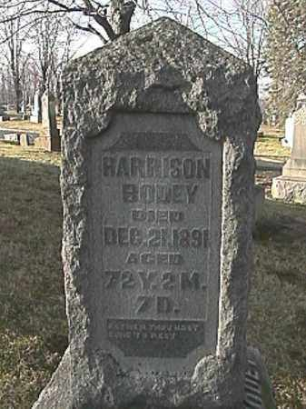 BODEY, HARRISON - Champaign County, Ohio | HARRISON BODEY - Ohio Gravestone Photos
