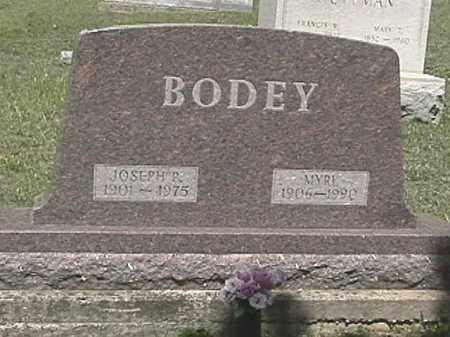 BODEY, MYRL - Champaign County, Ohio | MYRL BODEY - Ohio Gravestone Photos