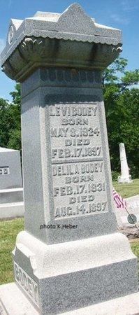 BODEY, LEVI - Champaign County, Ohio | LEVI BODEY - Ohio Gravestone Photos