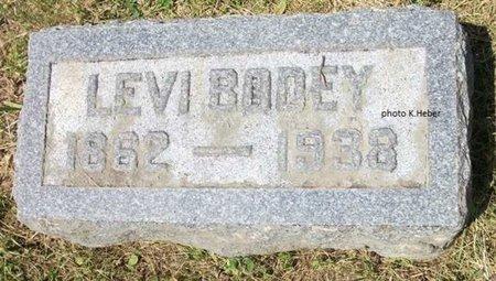 BODEY, LEVI - Champaign County, Ohio   LEVI BODEY - Ohio Gravestone Photos