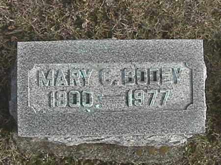 BODEY, MARY C. - Champaign County, Ohio   MARY C. BODEY - Ohio Gravestone Photos