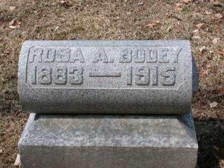 BODEY, ROSA ANN - Champaign County, Ohio | ROSA ANN BODEY - Ohio Gravestone Photos