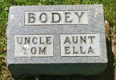 BODEY, ELLA - Champaign County, Ohio | ELLA BODEY - Ohio Gravestone Photos