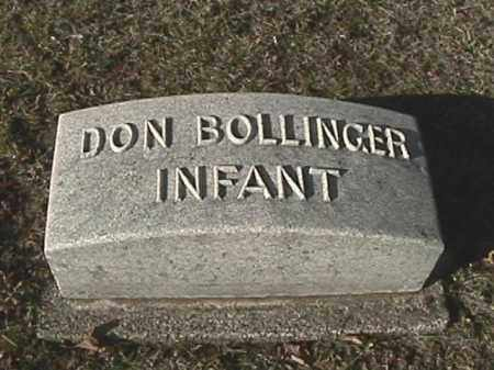 BOLLINGER, DON - Champaign County, Ohio | DON BOLLINGER - Ohio Gravestone Photos