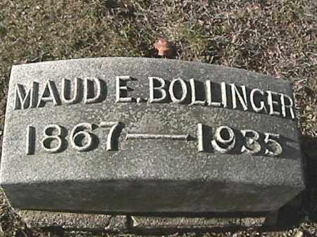 SCHUMM BOLLINGER, MAUD EDNA - Champaign County, Ohio | MAUD EDNA SCHUMM BOLLINGER - Ohio Gravestone Photos