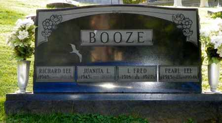 BOOZE, RICHARD LEE - Champaign County, Ohio | RICHARD LEE BOOZE - Ohio Gravestone Photos