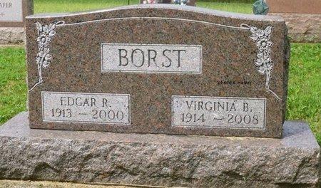 BALLARD BORST, VIRGINIA IRENE - Champaign County, Ohio | VIRGINIA IRENE BALLARD BORST - Ohio Gravestone Photos