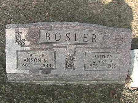 MCINTIRE BOSLER, MARY ALICE - Champaign County, Ohio | MARY ALICE MCINTIRE BOSLER - Ohio Gravestone Photos