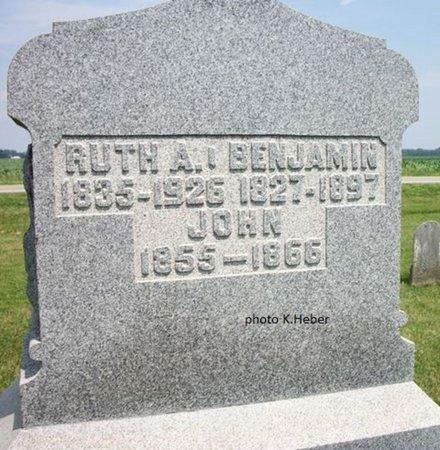 BOSLER, BENJAMIN F - Champaign County, Ohio | BENJAMIN F BOSLER - Ohio Gravestone Photos