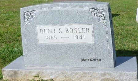 BOSLER, BENJAMIN SHERMAN - Champaign County, Ohio | BENJAMIN SHERMAN BOSLER - Ohio Gravestone Photos