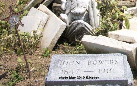 BOWERS, JOHN - Champaign County, Ohio | JOHN BOWERS - Ohio Gravestone Photos