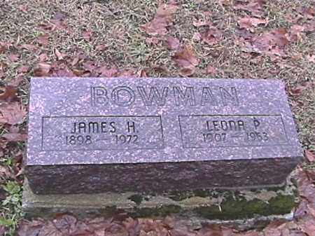 BOWMAN, JAMES H. - Champaign County, Ohio | JAMES H. BOWMAN - Ohio Gravestone Photos