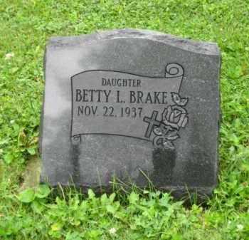 BRAKE, BETTY L. - Champaign County, Ohio | BETTY L. BRAKE - Ohio Gravestone Photos