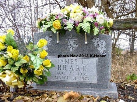 BRAKE, JAMES LEE - Champaign County, Ohio | JAMES LEE BRAKE - Ohio Gravestone Photos