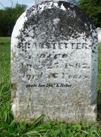 BRANSTETTER, ELIAS - Champaign County, Ohio | ELIAS BRANSTETTER - Ohio Gravestone Photos
