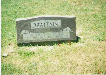 BRATTAIN, PEARL MANSON - Champaign County, Ohio | PEARL MANSON BRATTAIN - Ohio Gravestone Photos