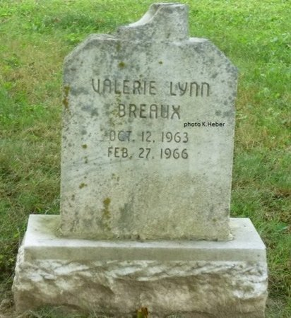 BREAUX, VALERIE LYNN - Champaign County, Ohio | VALERIE LYNN BREAUX - Ohio Gravestone Photos