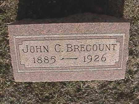 BRECOUNT, JOHN C. - Champaign County, Ohio   JOHN C. BRECOUNT - Ohio Gravestone Photos
