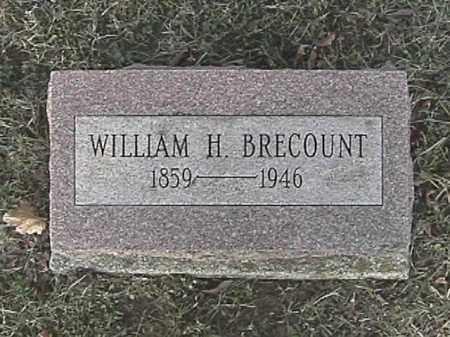 BRECOUNT, WILLIAM H. - Champaign County, Ohio | WILLIAM H. BRECOUNT - Ohio Gravestone Photos