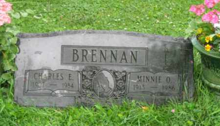BRENNAN, MINNIE OLIVE - Champaign County, Ohio | MINNIE OLIVE BRENNAN - Ohio Gravestone Photos