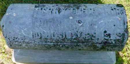 BRICKER, PERRY D. - Champaign County, Ohio | PERRY D. BRICKER - Ohio Gravestone Photos