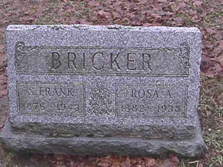 BRICKER, ROSA A. FLEMMING - Champaign County, Ohio | ROSA A. FLEMMING BRICKER - Ohio Gravestone Photos
