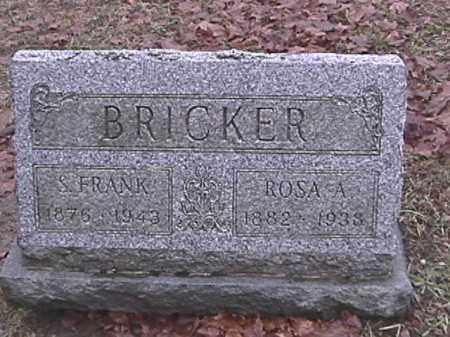 BRICKER, STANLEY FRANKLIN - Champaign County, Ohio | STANLEY FRANKLIN BRICKER - Ohio Gravestone Photos