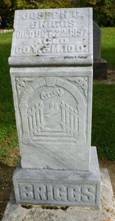 BRIGGS, JOSEPH C - Champaign County, Ohio   JOSEPH C BRIGGS - Ohio Gravestone Photos