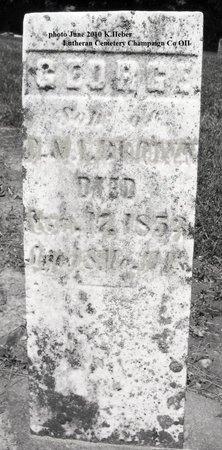 BROWN, GEORGE - Champaign County, Ohio | GEORGE BROWN - Ohio Gravestone Photos