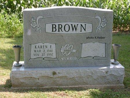 ALDRIDGE BROWN, KAREN E - Champaign County, Ohio | KAREN E ALDRIDGE BROWN - Ohio Gravestone Photos