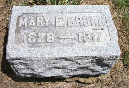 BRIGGS BROWN, MARY ELIZABETH - Champaign County, Ohio | MARY ELIZABETH BRIGGS BROWN - Ohio Gravestone Photos
