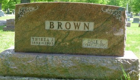 JENKINS BROWN, THIRZA COMER - Champaign County, Ohio | THIRZA COMER JENKINS BROWN - Ohio Gravestone Photos