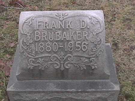 BRUBAKER, FRANK D. - Champaign County, Ohio | FRANK D. BRUBAKER - Ohio Gravestone Photos