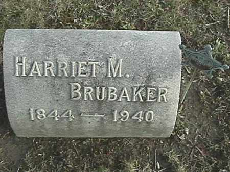 BRUBAKER, HARRIET M. - Champaign County, Ohio | HARRIET M. BRUBAKER - Ohio Gravestone Photos