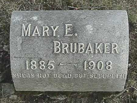 BRUBAKER, MARY EMMA - Champaign County, Ohio | MARY EMMA BRUBAKER - Ohio Gravestone Photos