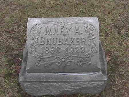 BRUBAKER, MARY A. WIEBEL - Champaign County, Ohio | MARY A. WIEBEL BRUBAKER - Ohio Gravestone Photos