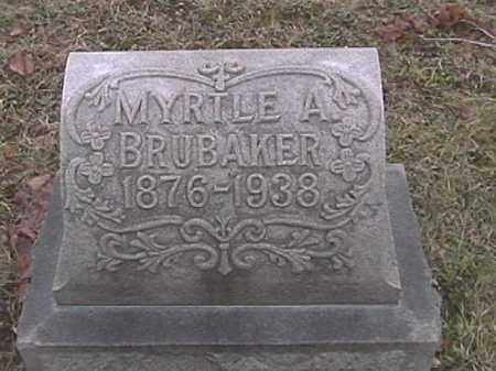 BRUBAKER, MYRTLE A. MUSSELMAN - Champaign County, Ohio | MYRTLE A. MUSSELMAN BRUBAKER - Ohio Gravestone Photos