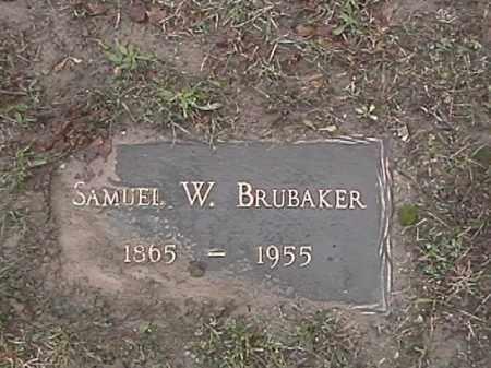 BRUBAKER, SAMUEL W. - Champaign County, Ohio | SAMUEL W. BRUBAKER - Ohio Gravestone Photos