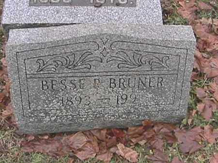 BRUNER, BESSE RUTH - Champaign County, Ohio | BESSE RUTH BRUNER - Ohio Gravestone Photos