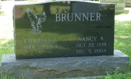 ANDREW BRUNNER, NANCY A - Champaign County, Ohio | NANCY A ANDREW BRUNNER - Ohio Gravestone Photos