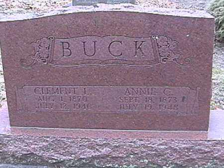 BUCK, ANNIE C. - Champaign County, Ohio | ANNIE C. BUCK - Ohio Gravestone Photos