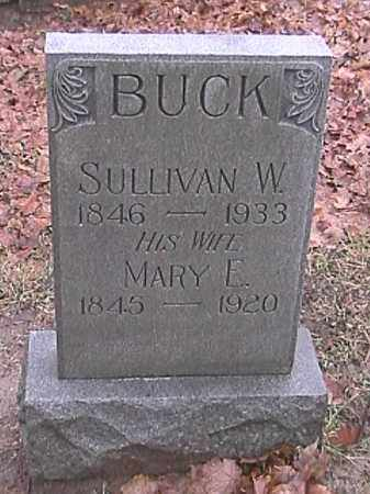 BUCK, SULLIVAN W. - Champaign County, Ohio | SULLIVAN W. BUCK - Ohio Gravestone Photos