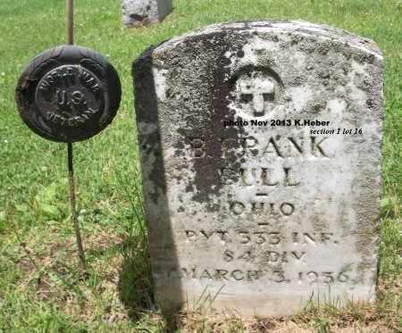BULL, BENJAMIN FRANKLIN - Champaign County, Ohio   BENJAMIN FRANKLIN BULL - Ohio Gravestone Photos