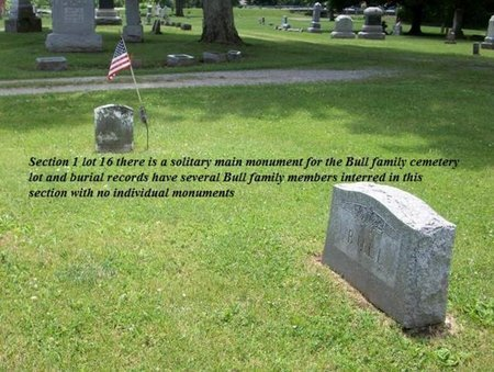 BULL, CHARLES L - Champaign County, Ohio | CHARLES L BULL - Ohio Gravestone Photos