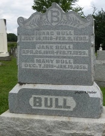 BULL, MARY - Champaign County, Ohio | MARY BULL - Ohio Gravestone Photos