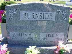 BURNSIDE, LOUELLA M - Champaign County, Ohio | LOUELLA M BURNSIDE - Ohio Gravestone Photos