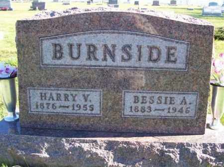 BURNSIDE, BESSIE A - Champaign County, Ohio | BESSIE A BURNSIDE - Ohio Gravestone Photos