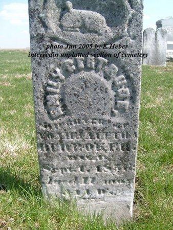 BUROKER, EMILY GERTRUDE - Champaign County, Ohio | EMILY GERTRUDE BUROKER - Ohio Gravestone Photos