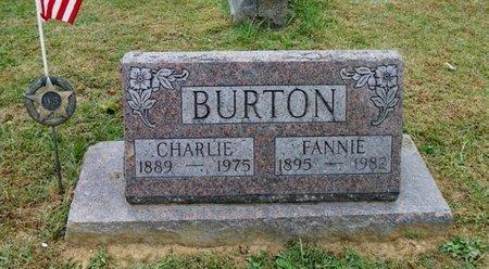 BURTON, CHARLIE - Champaign County, Ohio   CHARLIE BURTON - Ohio Gravestone Photos